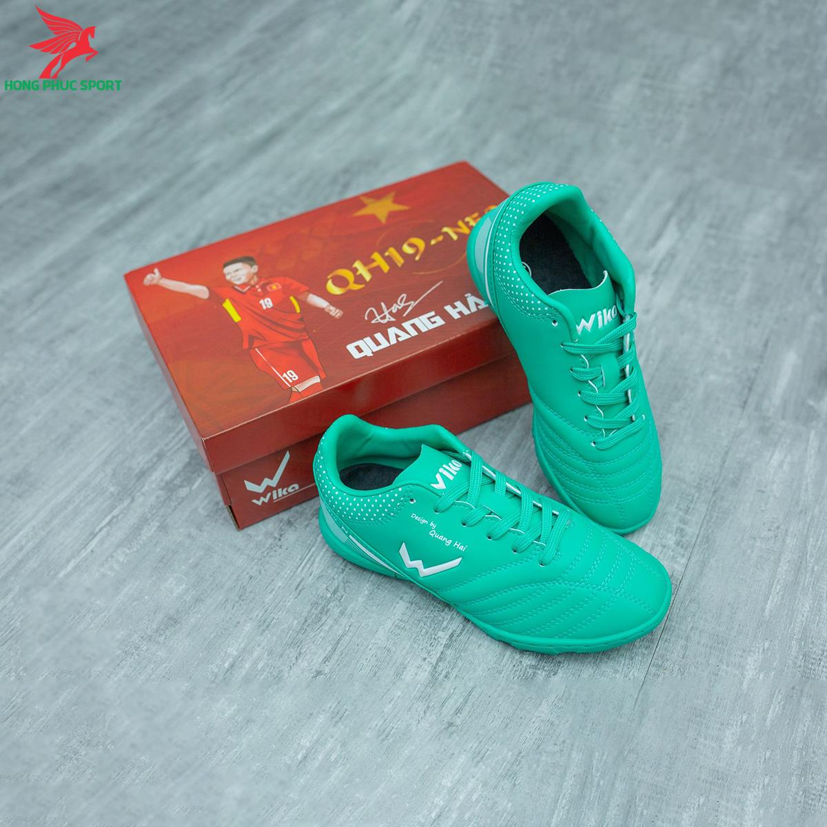 Giày đá banh Wika QH19 Neo Kids sân cỏ nhân tạo màu Xanh lam (3)