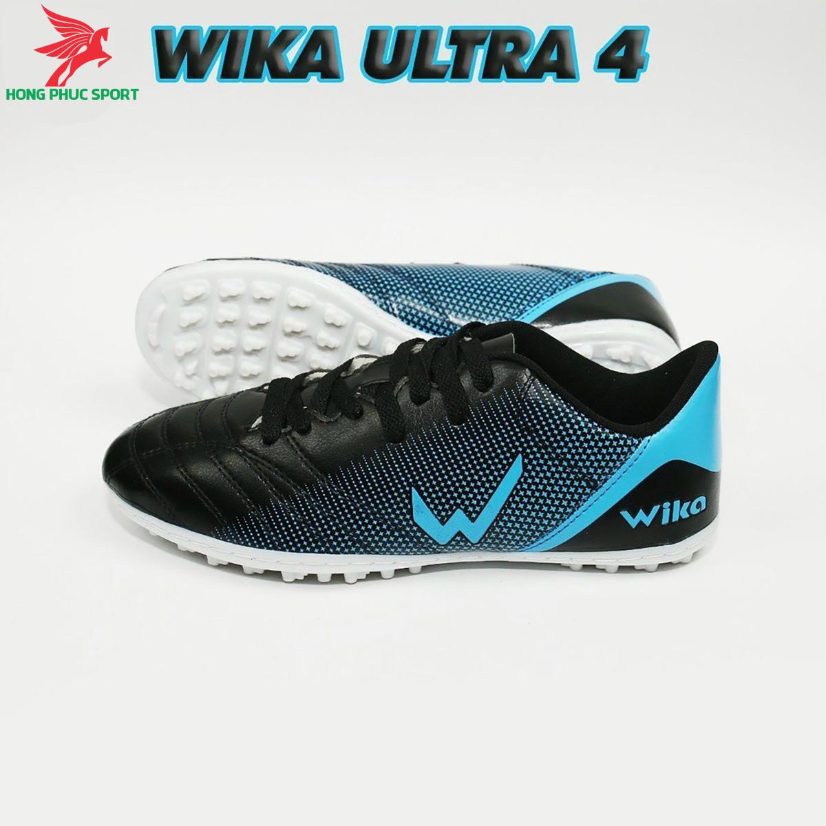 Giày đá banh Wika Ultra 4đế TF màu xanh dương