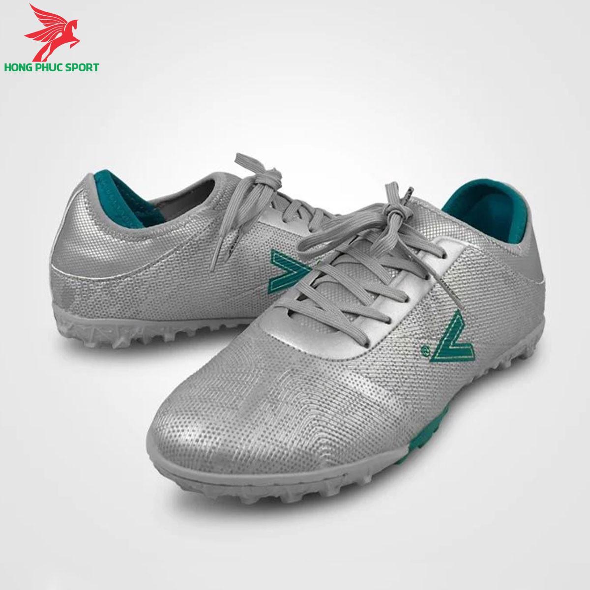 Giày đá banh Mitre 190420 màu bạcđế TF (2)