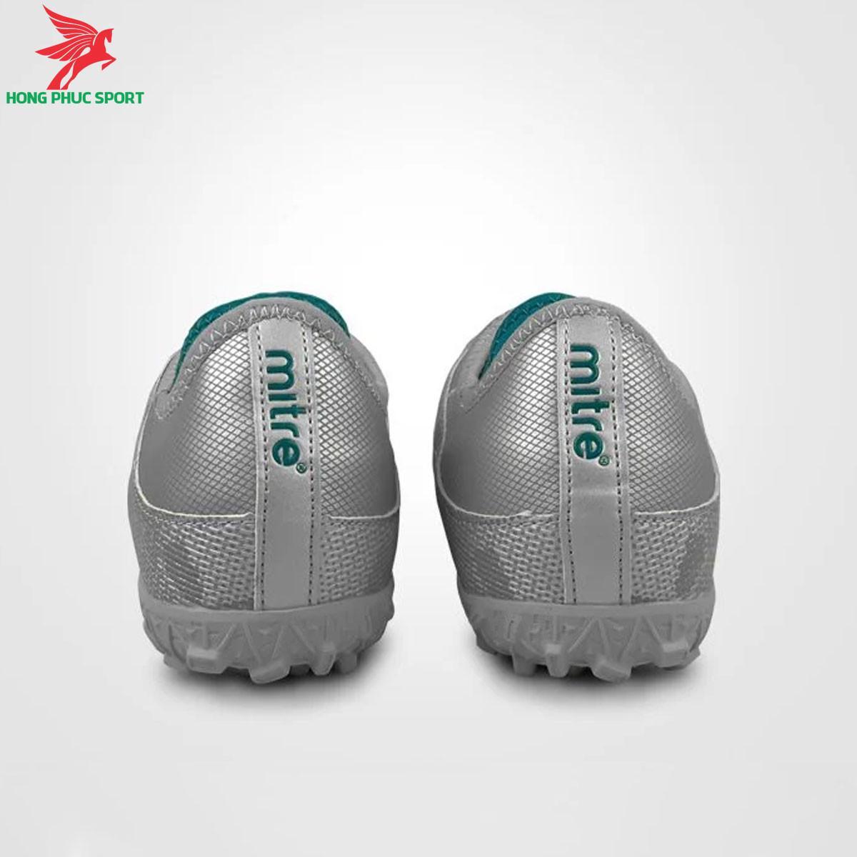 Giày đá banh Mitre 190420 màu bạcđế TF (4)