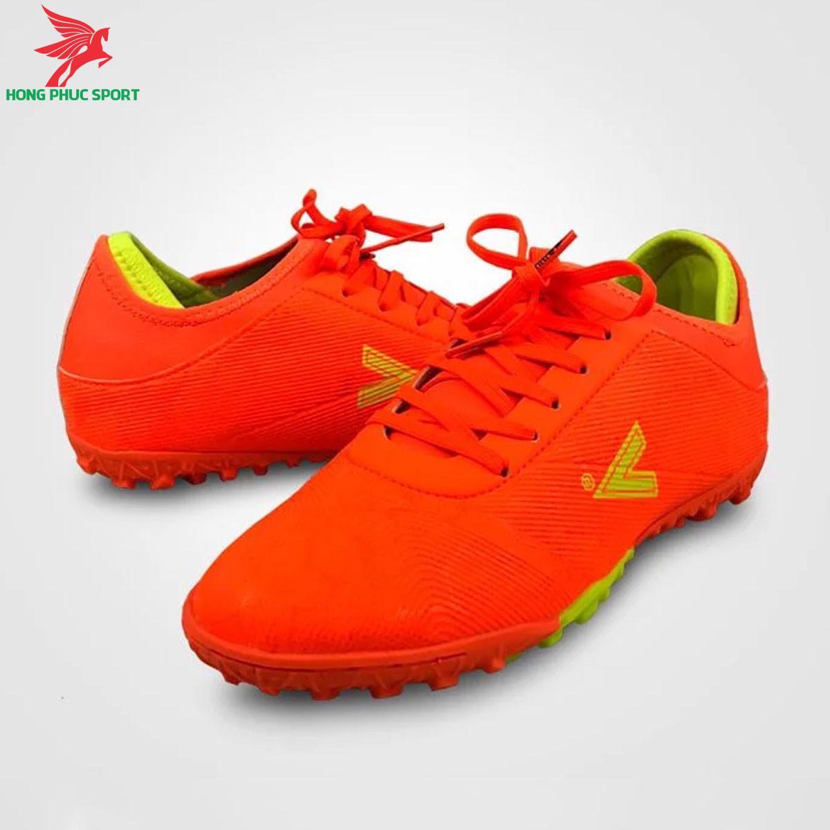 Giày đá banh Mitre 190420 màu cam đế TF (1)