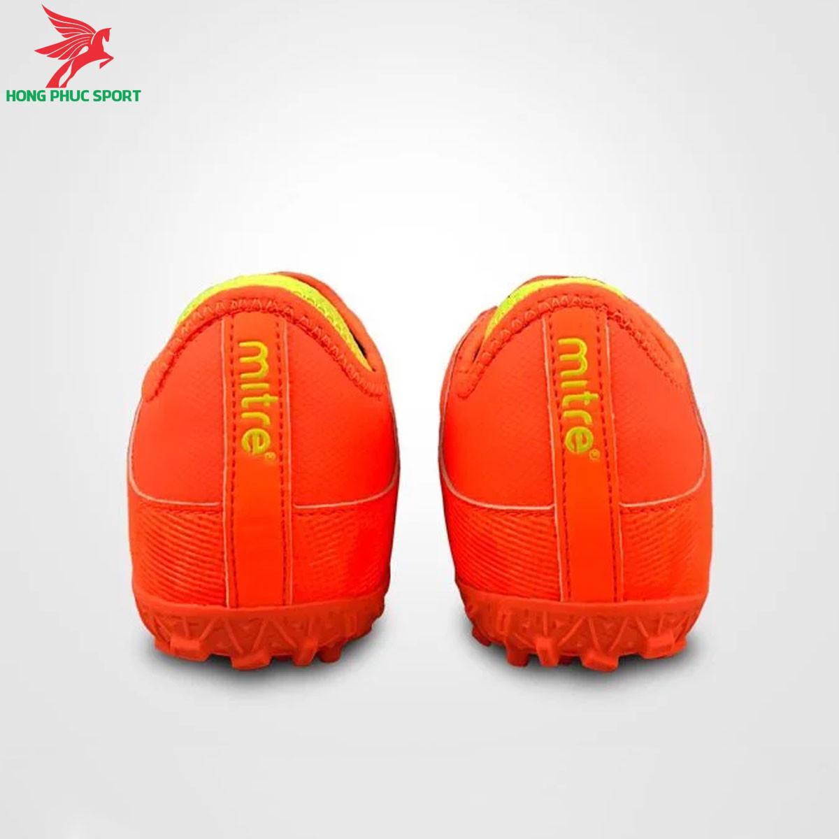 Giày đá banh Mitre 190420 màu cam đế TF (3)