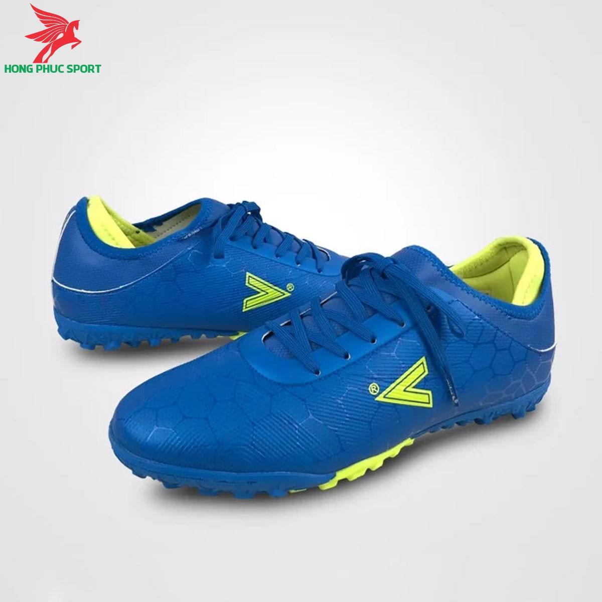 Giày đá banh Mitre 190420 màu xanh dương đế TF (1)