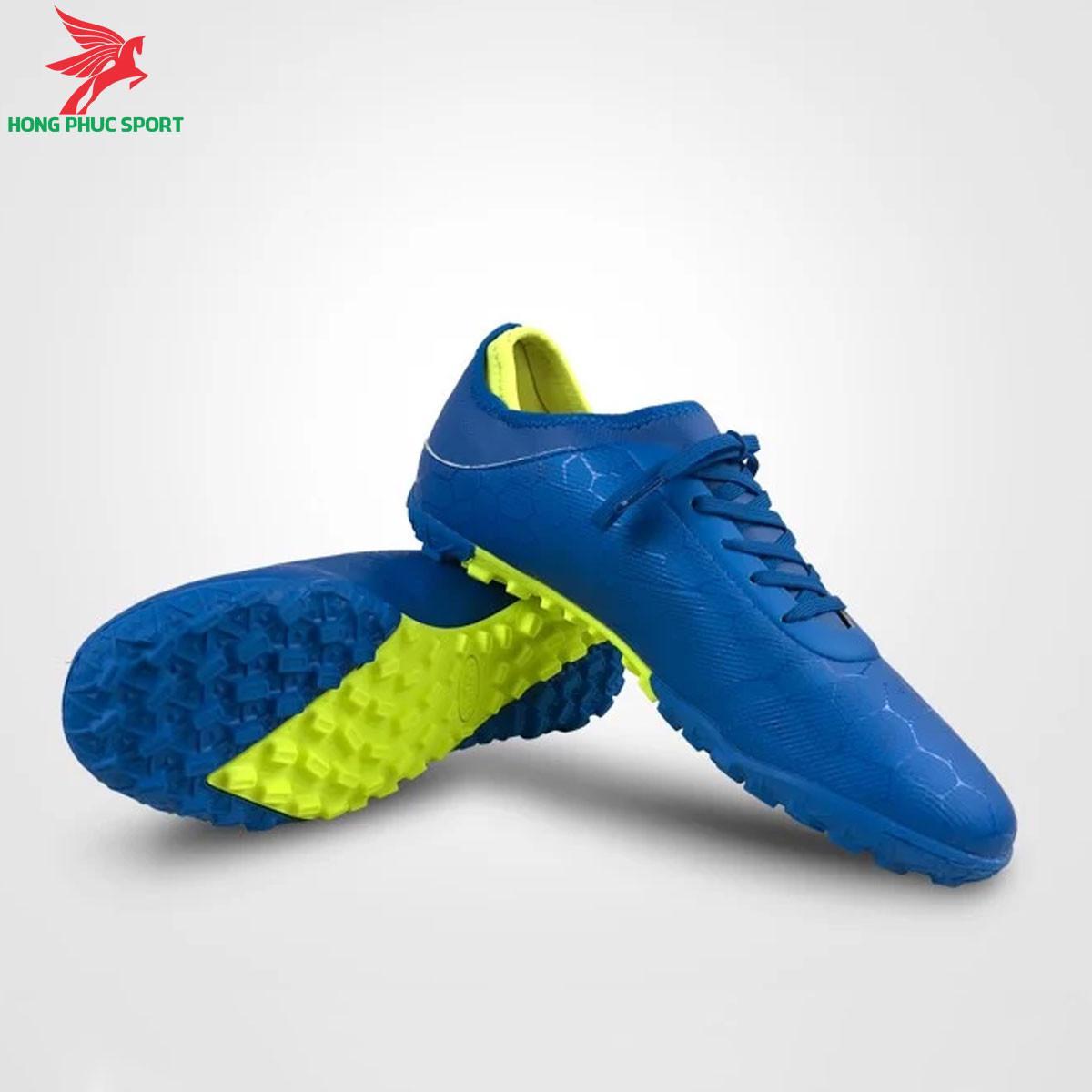Giày đá banh Mitre 190420 màu xanh dương đế TF (2)