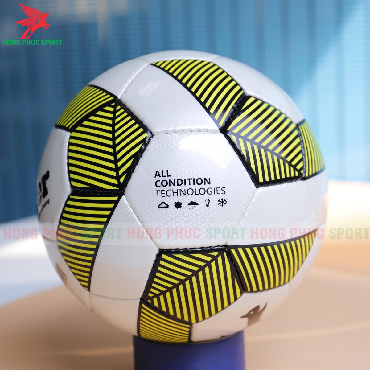 Quả bóng đá Zocker Endo E1910 mẫu 2 màu vàng