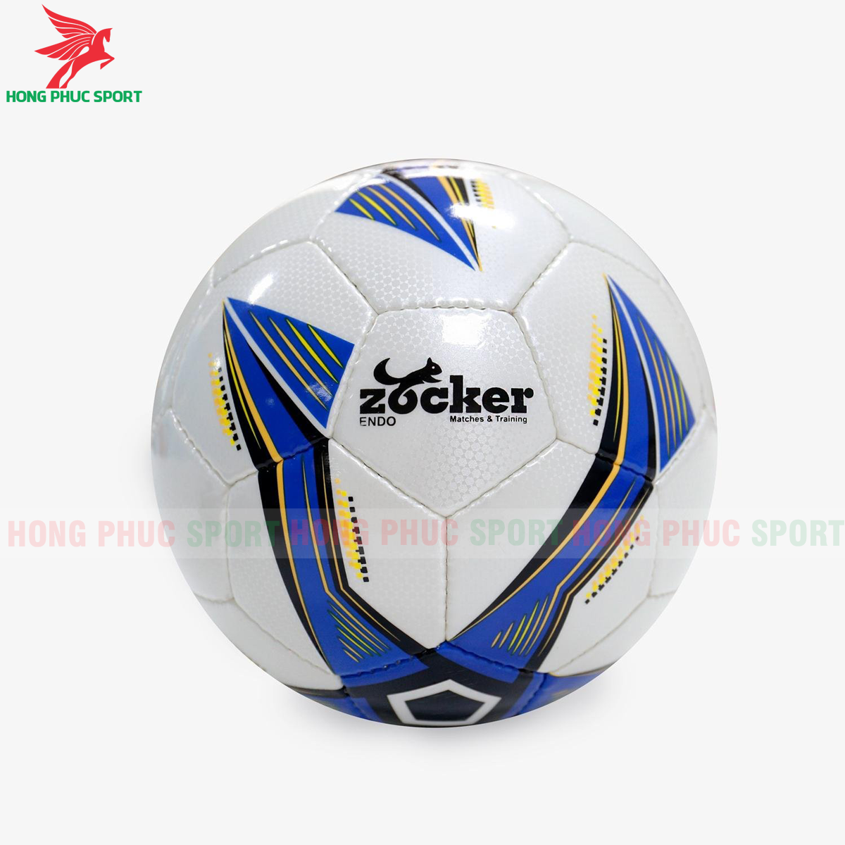 Quả bóng đá Zocker Endo E1910 màu xanh