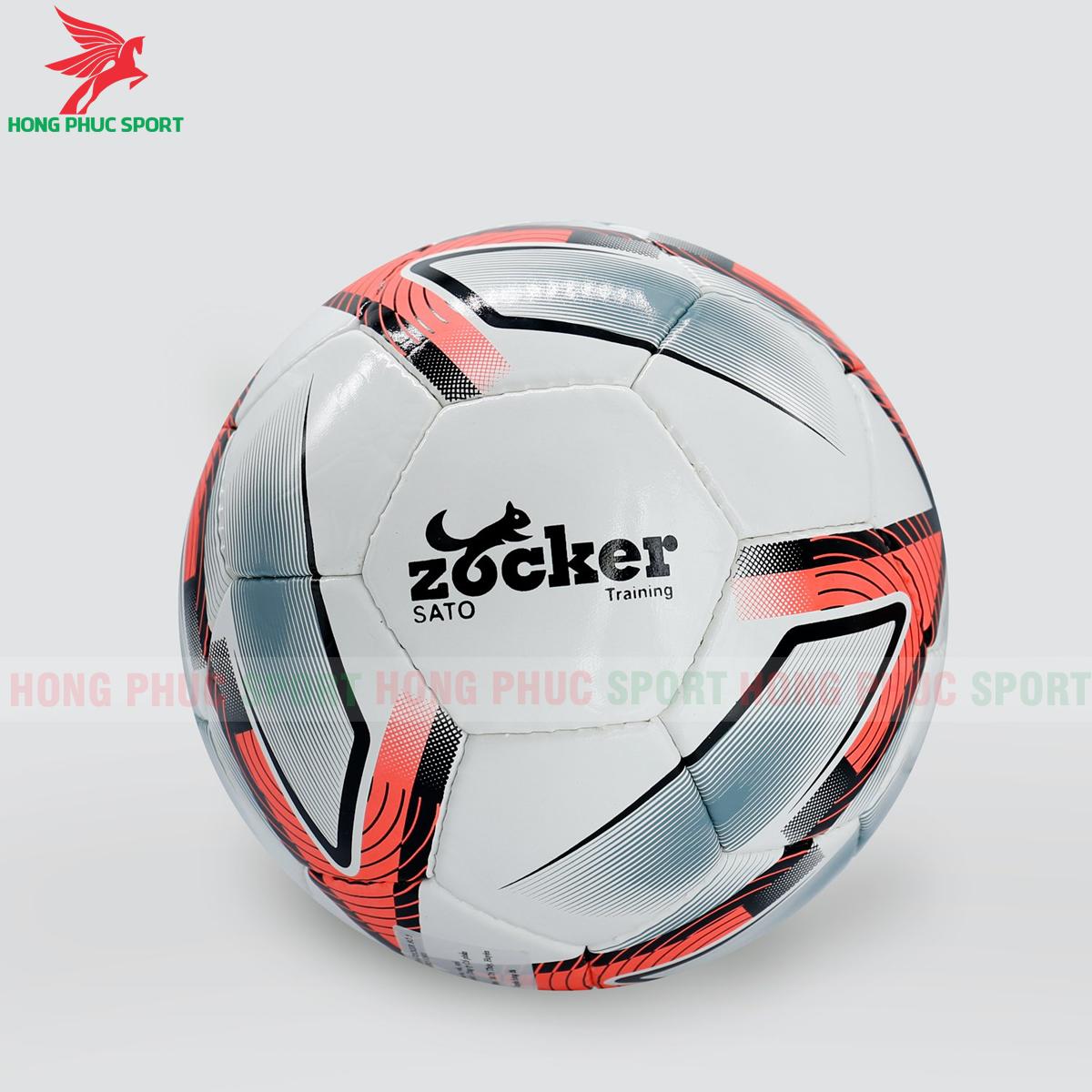 Quả bóng đá Zocker Sato S1901 mẫu 1màu cam
