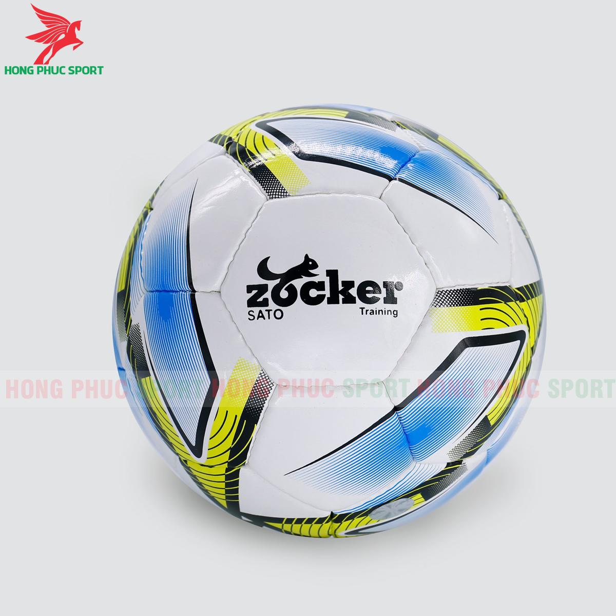 Quả bóng đá Zocker Sato S1901 mẫu 3màu vàng
