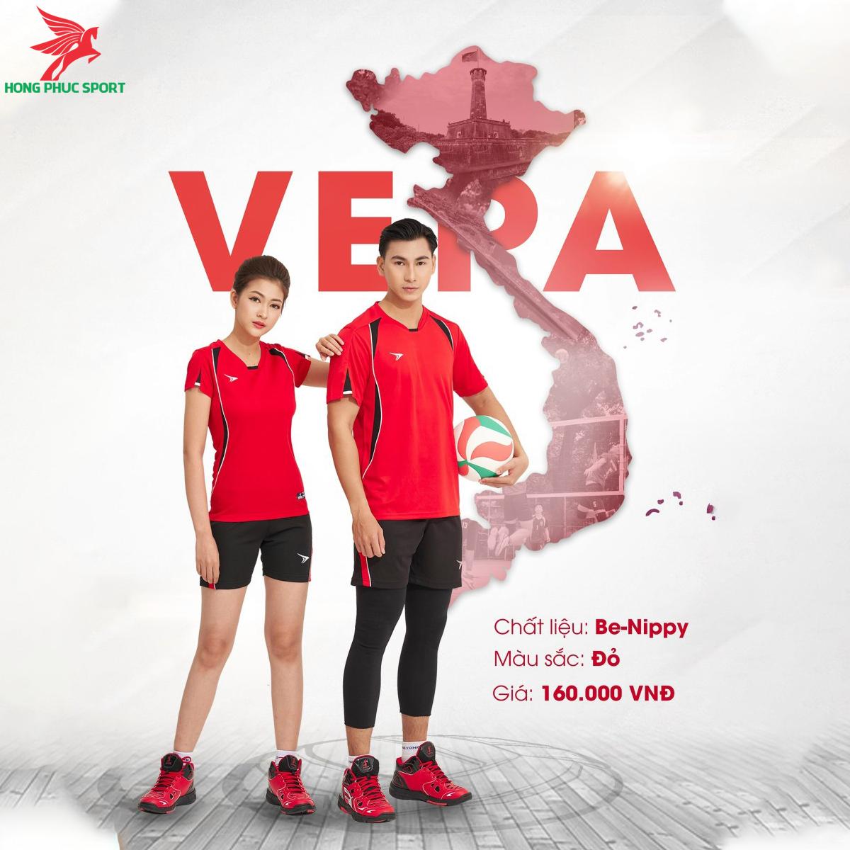 Quần áo bóng chuyềnBEYONO Vera màu Đỏ