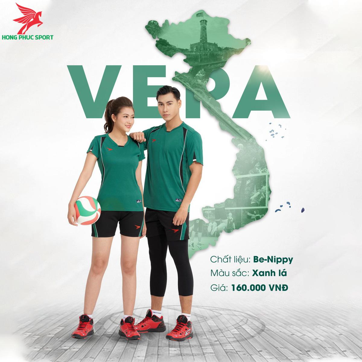 Quần áo bóng chuyềnBEYONO Vera màu xanh lá