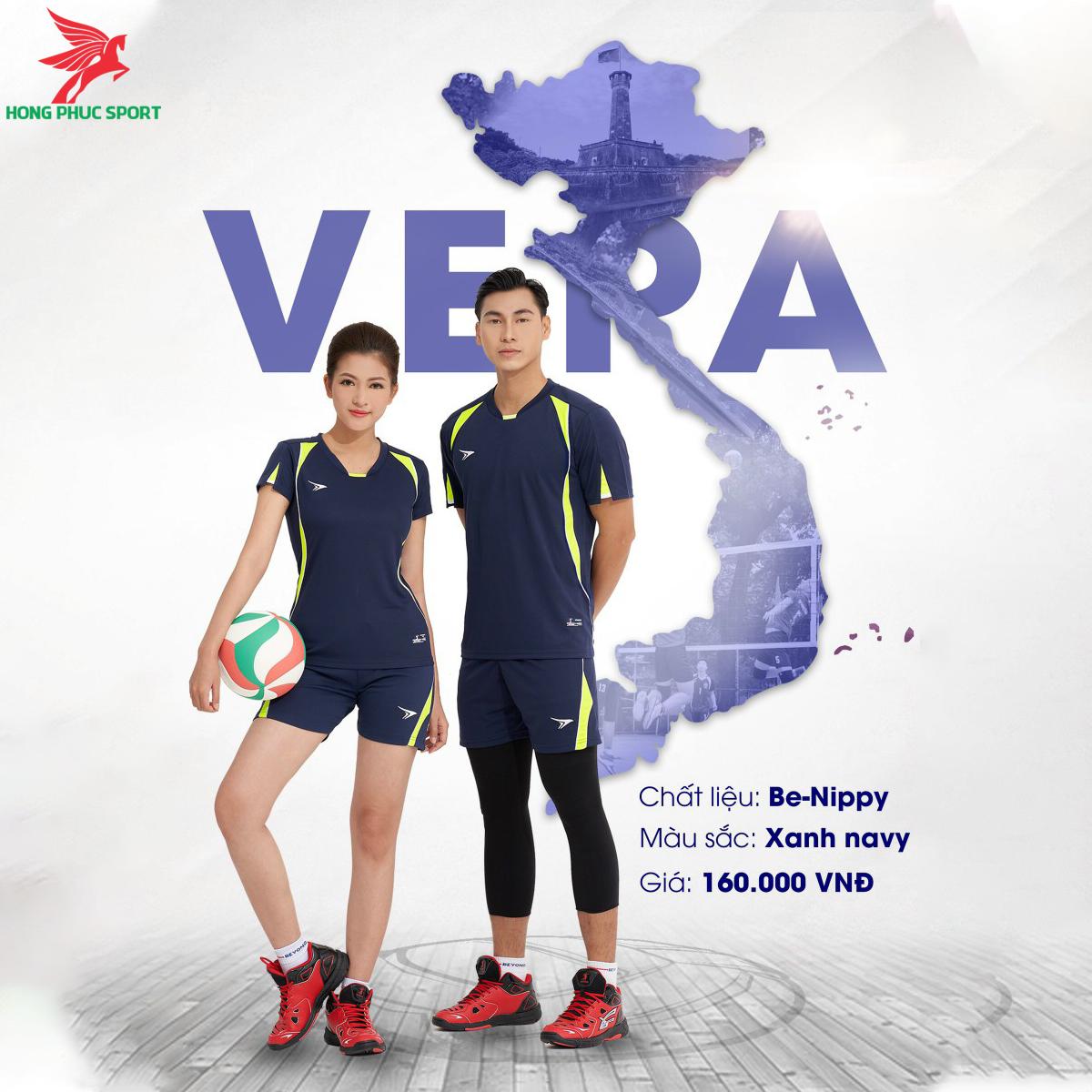 Quần áo bóng chuyềnBEYONO Vera màu Xanh Navy
