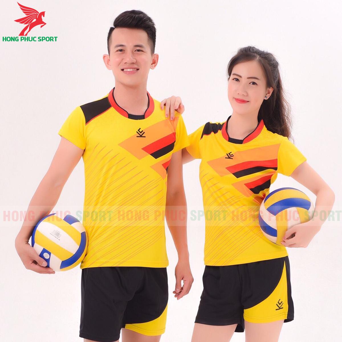 Áo bóng chuyền Kelme 2020 màu vàng