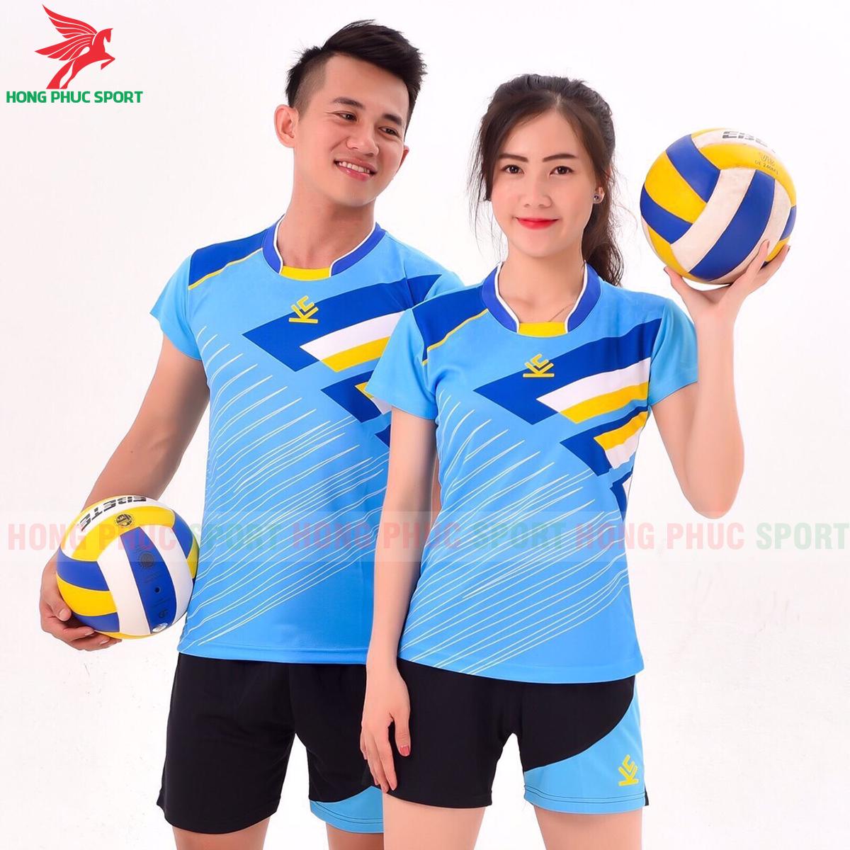 Áo bóng chuyền Kelme 2020 màu xanh