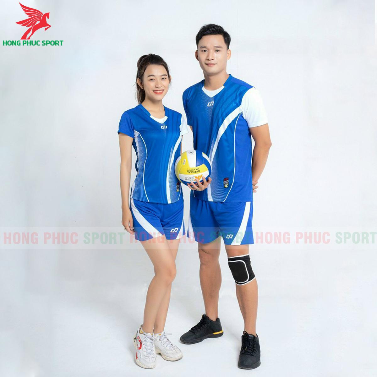 Quần áo bóng chuyềnCP Zentiga màu Xanh bích