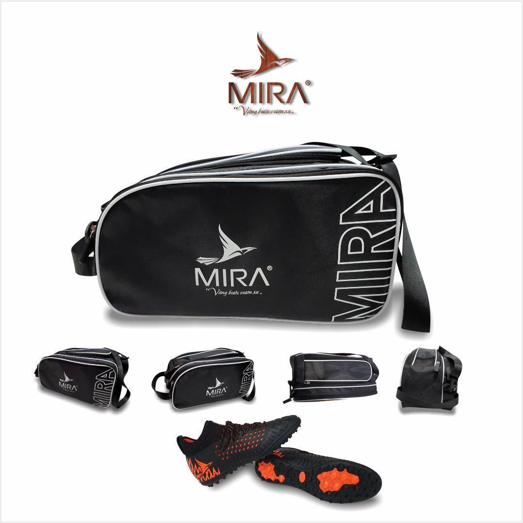 Túi đựng thể thao Mira 2 ngăn màu đen