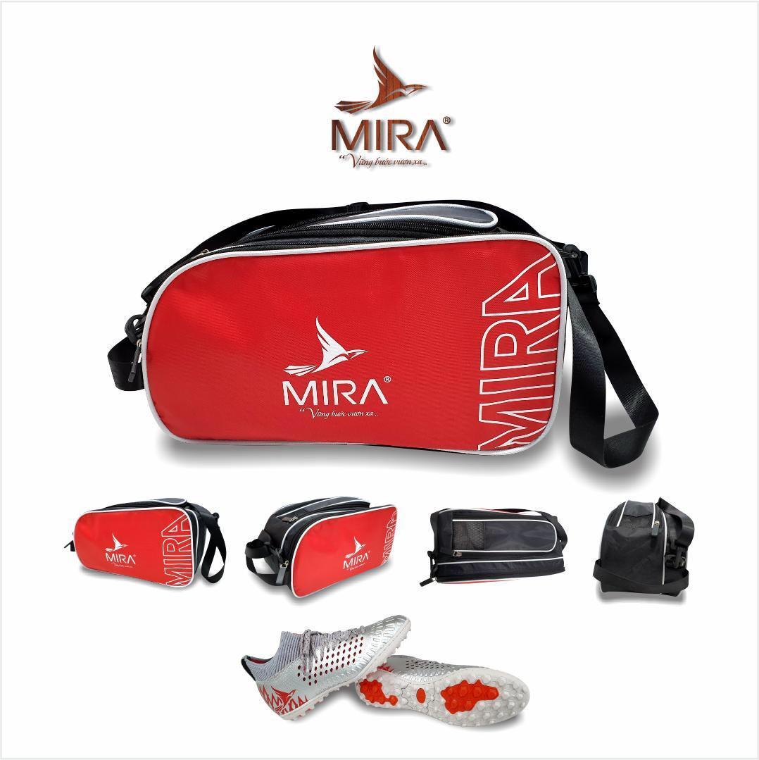 Túi đựng thể thao Mira 2 ngăn màu đỏ
