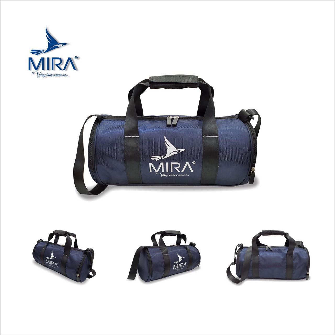 Túi trống đựng giày Mira cao cấp màu xanh