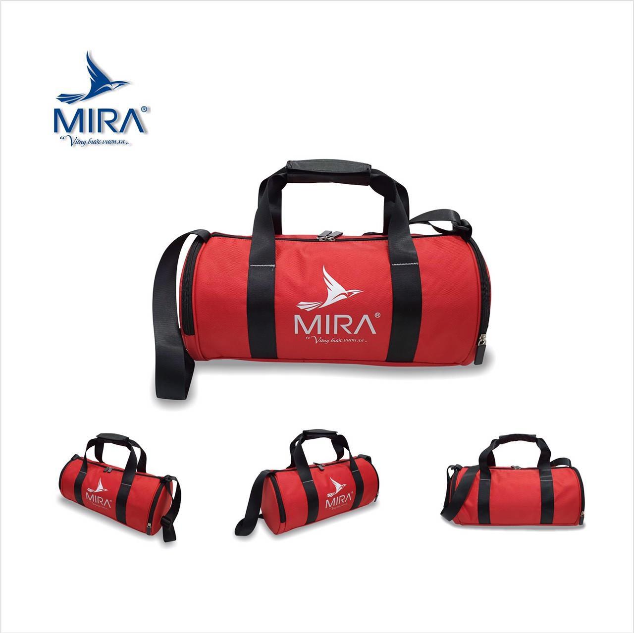 Túi trống đựng giày Mira cao cấp màu đỏ