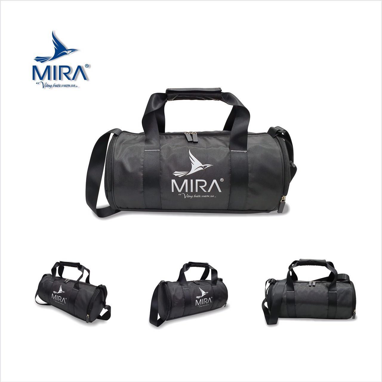 Túi trống đựng giày Mira cao cấp màu đen