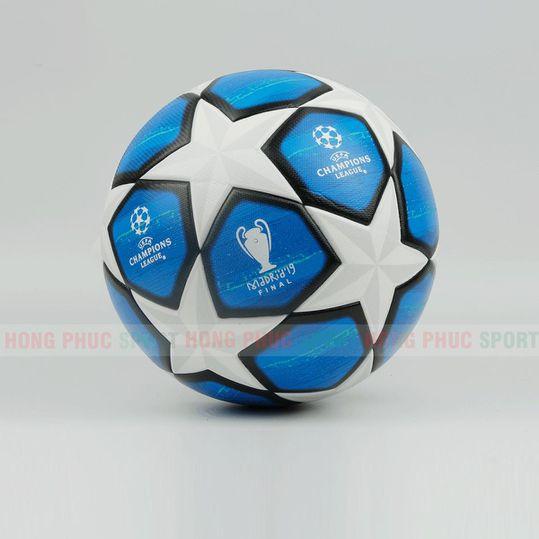 BÓNG ĐÁ UEFA CHAMPIONS LEAGUE 2019 XANH NGỌC Tặng Kim Bơm
