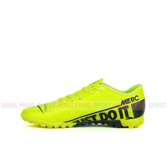 Giày đá bóng MERCURIAL VAPOR 13 TF VÀNG XANH