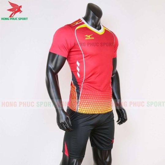 Quần áo bóng chuyền Mizuno 2020 màu đỏ