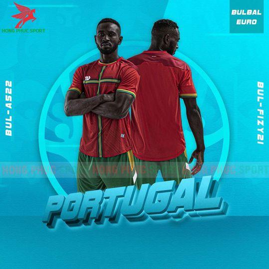 ÁO ĐẤU KHÔNG LOGOBULBAL EURO 2021 FIZY21 - VẢI MÈ CAO CẤP