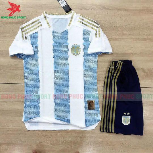 Áo đấu tuyển Argentina 2021 sân nhà - Hàng Thailand