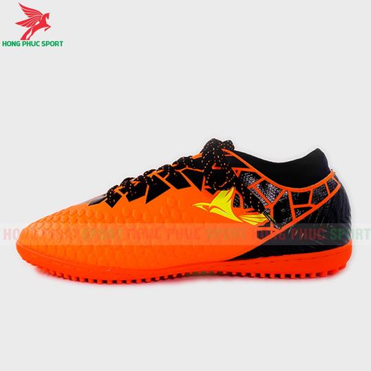 Giày đá bóng cổ cao Mira Lux 19.4 cam sân cỏ nhân tạo