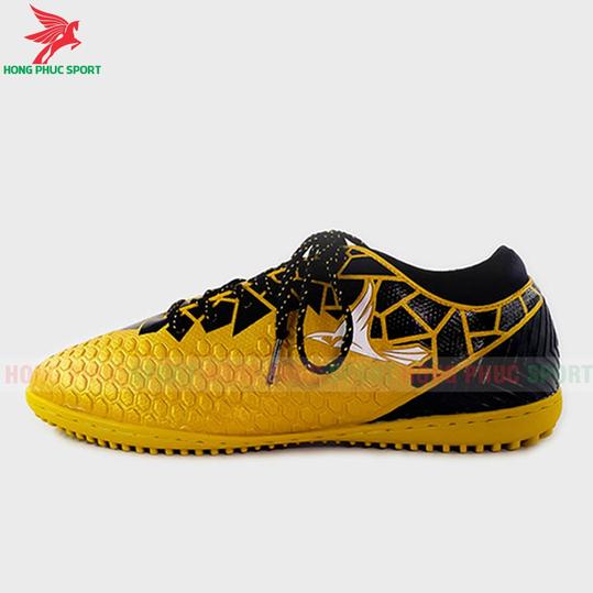 Giày đá bóng cổ cao Mira Lux 19.4 vàng đồng sân cỏ nhân tạo