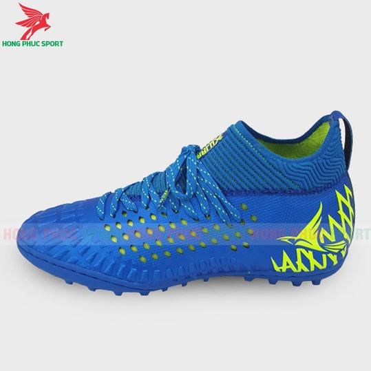 Giày đá bóng cổ cao Mira Lux 19.2 xanh dương sân cỏ nhân tạo